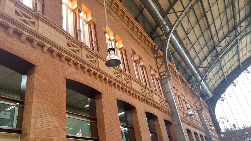 EyeEm Selects Architecture Built Structure History Atocha Atocha Renfe Low Angle View Travel Destinations Madrid Madrid, Spain Architectural Column Travel Arch Tourism Building Exterior No People Indoors  City