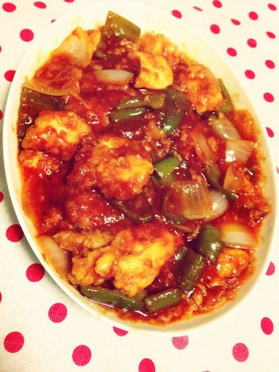 Our Dinner#sweet And Sour Chicken#yummy.....