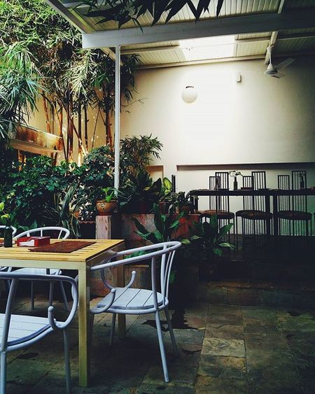 Can never stop going back to this place VSCO Vscocam Igersindia Chennai Igers Vscochennai Mood Cafe Green Plants