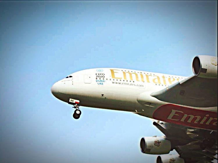 Emirates A380-800 A6-EOS Cheese!