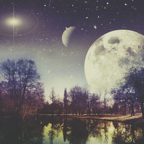 Moonlight Paesaggio Photography Enjoying Life