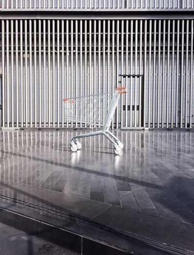 Shopping Cart Parked No People Minimal Gettyimages Gettyimagesgallery Getty X EyeEm