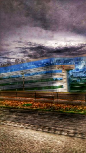Practicing what they preach. Mercy Hospital Buildings & Sky Cloudscape Darkness And Light Humanity...  Visual Poetry Reflection_collection Black And Blue Drivebyphotography