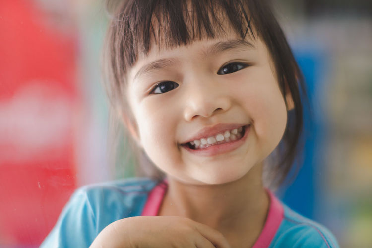 Cheerful Child Childhood Close-up Cute Emotion Focus On Foreground Front View Gap Toothed Hairstyle Happiness Headshot Human Face Innocence Lifestyles Looking At Camera One Person Portrait Smiling Teeth Toothy Smile