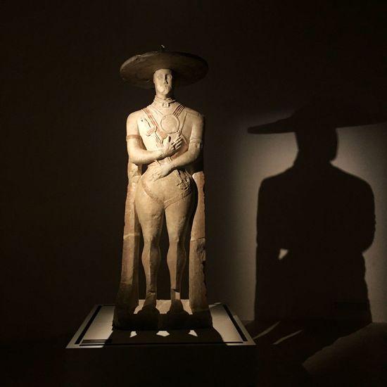 The Capestrano's warrior Human Representation No People Indoors  Statue Italy Warrior Preromanico ArtWork Art History Storia Archeology Archeologymuseum