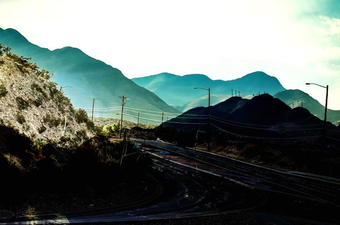Travel Mountain Transportation Nature Mountain Range Curve Road No People Beauty In Nature Winding Road Landscape Sky Outdoors Scenics Mountain Road Day