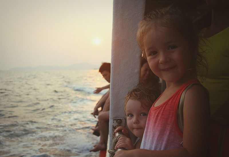 Baby Child Girls Seaandsun Sohappy Cute The Portraitist - 2017 EyeEm Awards
