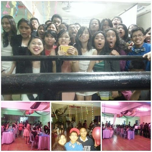 T.H.E. Rave-Cocktail Party! :)) I love you guuuys ♡ 919 School Party Friends Orderliness Mehehe