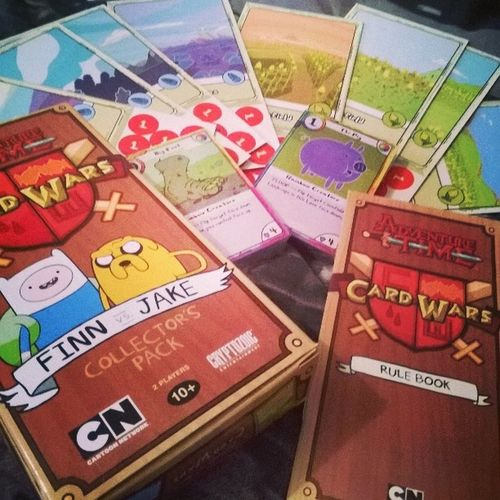 What a find, Card Wars! Adventuretime Jakevsfinn Cardwars Cartoonnetwork