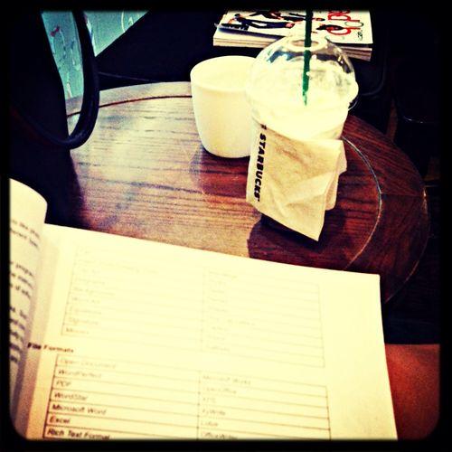 Keep clam and drink Iced Coffee !! Starbucks Coffee is ❤️
