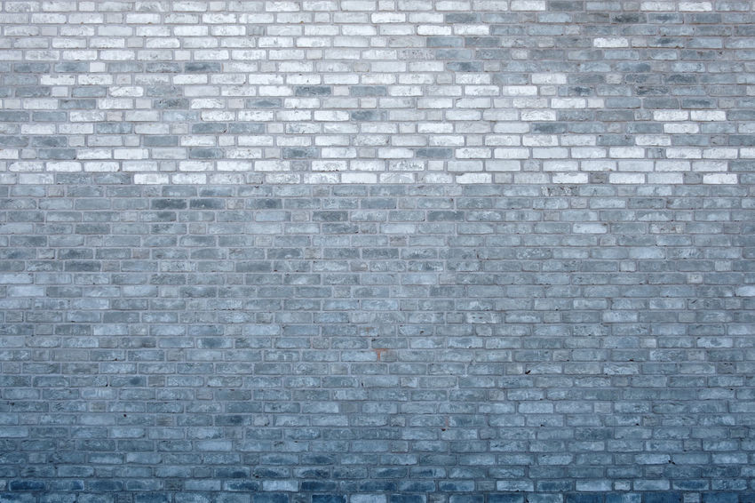 Architecture Brick Wall Copy Space Façade In A Row Textured  Backgrounds Blue Brick Building Exterior Built Structure Construction Material Design Full Frame Gray Old Outdoors Pattern Protection Repetition Rough Side By Side Solid Stone Material Wall - Building Feature