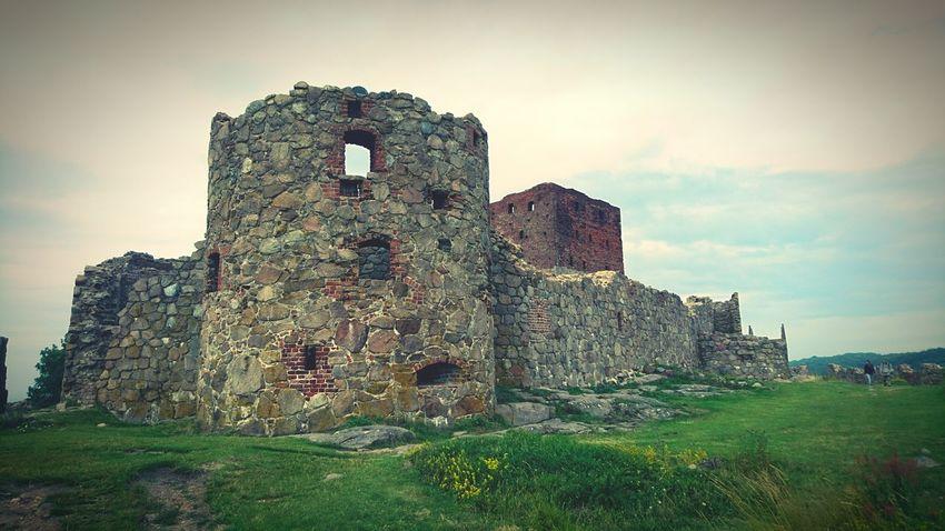 Hammershus, Bornholm - Denmark Hammershus Scandinaviancastle Ruins Bornholm Denmark First Eyeem Photo