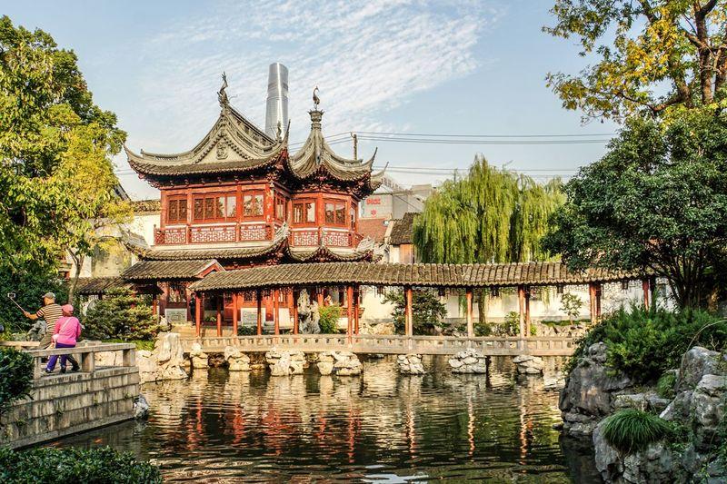 Tempelanlage in