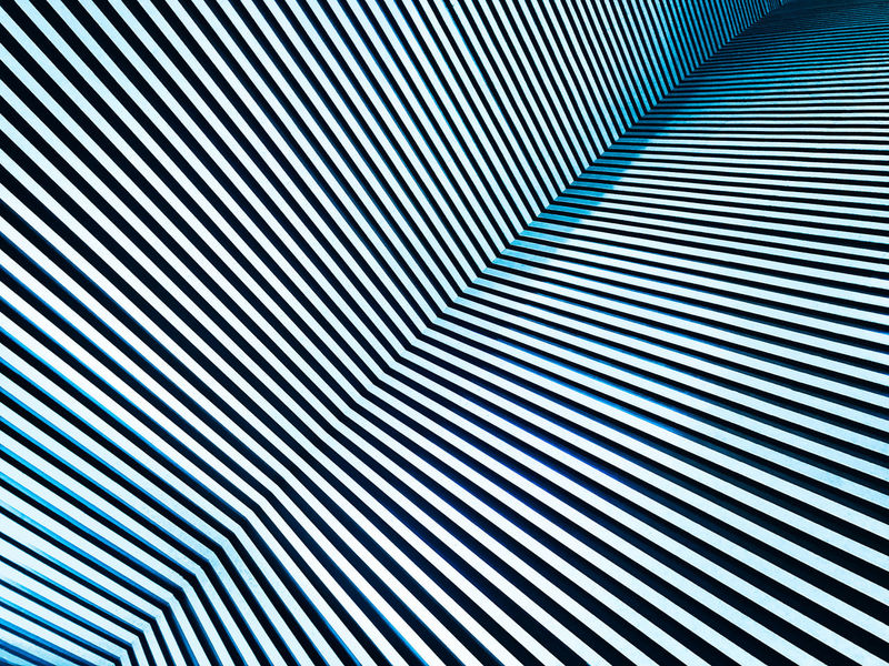 Architecture Ceiling Textured  Abstract Backgrounds Blue Day Design Dizzy Futuristic Geometric Shape Illuminated In A Row Indoors  Infinity Modern No People Order Parallel Lines Pattern Striped Technology Textured  Three Dimensional White Color
