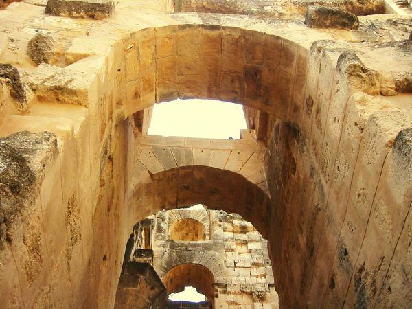 El Jem, Tunisia Arch Architecture