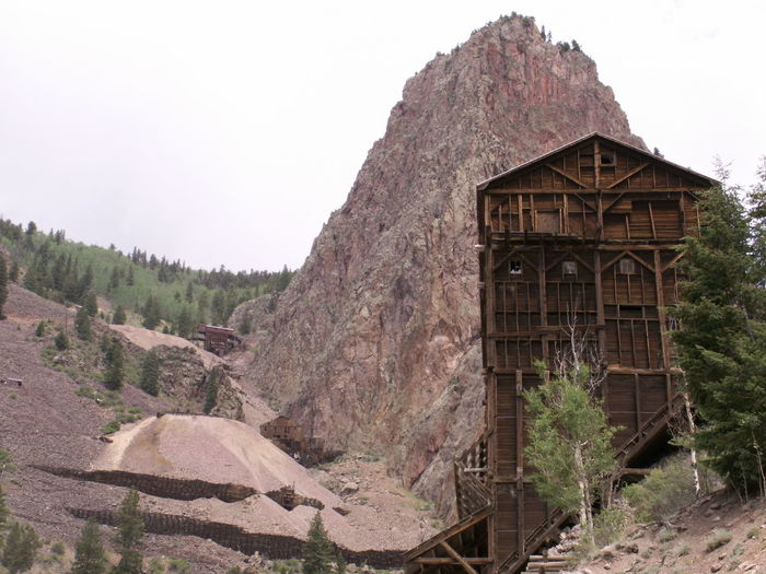 Old Mining town in Creede, CO. Silver was mined here. Ancient Civilization Cliff Creede, CO Culture Day Eroded Geology Ghost Town History Leading Mining Town Mountain Outdoors Perspective Physical Geography Remote Rock Rock - Object Rock Formation Rocky Rocky Mountains Rough Ruined Stone