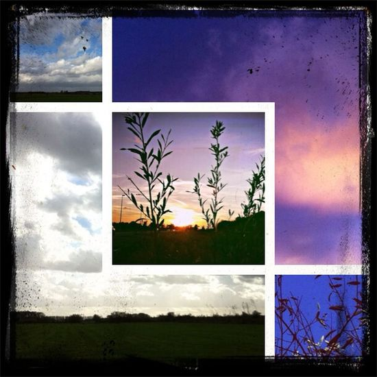 Wat een lucht. Nature Collage Clouds And Sky Renkum