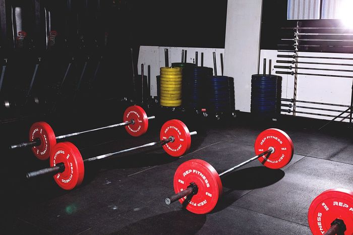CrossFit equipment Red Indoors  No People Sport Day Exercising Strength Sports Training Exercise Equipment Cross Training Indoors