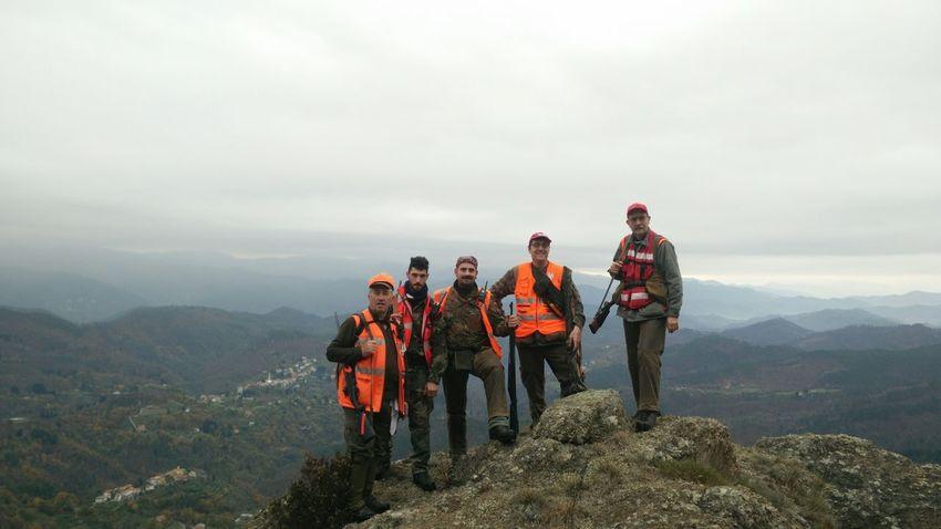 Hunters ready to work... Fotoitaliane Born To Be Wild Italy Ziona Liguria Mountains Landscape Hunters