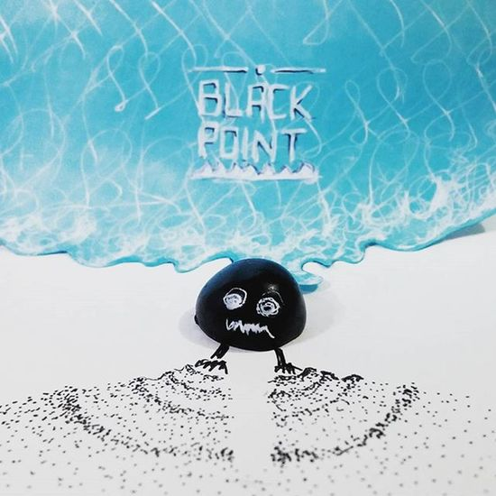 BlackPoint' Blackpoint Black Point Character Animation Graphicdesigner Handmade Typography Art Illustration Illüstrasyon Vscocam VSCO Coldceramic Elyapımı Karakter Artist Illustrator Followme Kumsal Beach Waves Magic