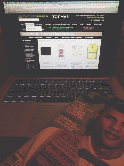 TopMan MacBook Pro GQFrance Enjoying Life