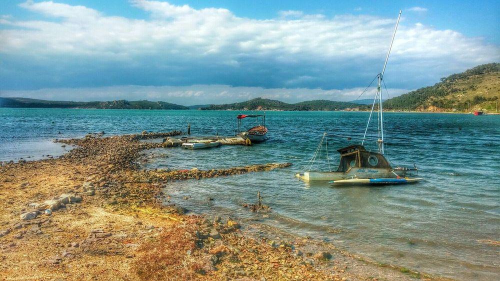 Sea Ayvalik 🐚🐳🐬🏊 Ayvalık Ayvalik Boats Beach Cunda Korfez Sea And Sky Boat