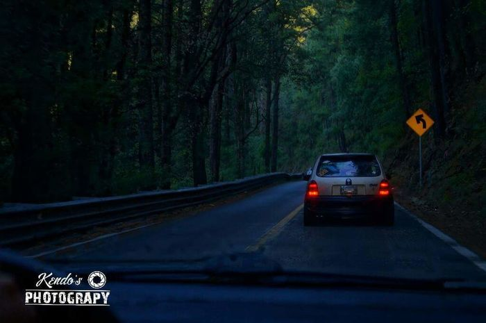 Corsa Opel Night Kendosphotography Forest