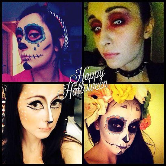 Halloween Panigosiamaluje Kocham Poland Polishwoman Selfie Mac Maccosmetics Makijaz Makupartist Makeup Happy Instagirl Hard Zombie Sarna Gost Devil Warszawa  Wizażystka Me