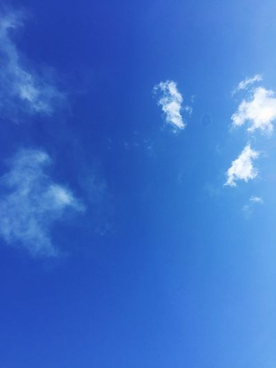 Blue Sky Low Angle View Beauty In Nature Nature Cloud - Sky No People Sky Only Day Outdoors Backgrounds Scenics EyeEmNewHere AI Now