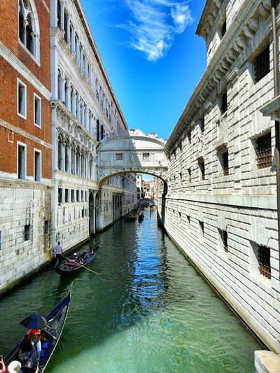Venice Travel Goodlife Italia Venice Architecture Built Structure Canal Building Exterior Tourism Day Gondola - Traditional Boat Travel Destinations Travel Transportation Water Outdoors Nautical Vessel Sky Real People Men People EyeEmNewHere