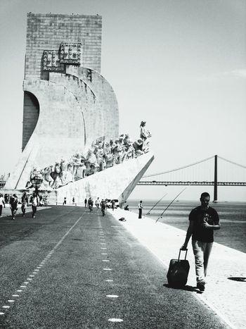 Black And White Lisbona Lisbonalive Tourist Viaggi Mondo