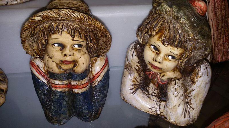 Art Portrait Ceramics Sculpture
