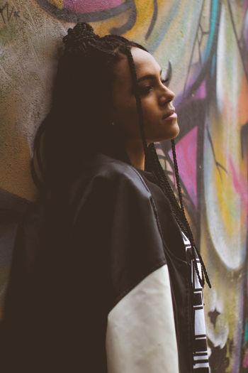 Young Adult Women Street Art People Fashion Graffiti First Eyeem Photo