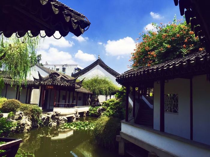 Nanking Architecture Built Structure Building Exterior House Sky Day Roof Outdoors Tree No People Cloud - Sky Water Travel Destinations Nature