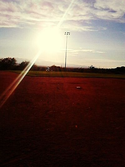 Nice view from Home plate.⚾ First Eyeem Photo