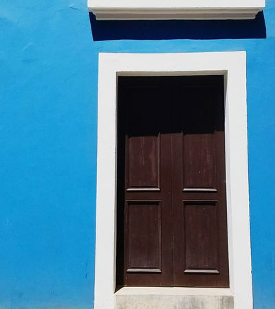 Old-fashioned Door Architecture Colors Of My City San Juan PR Rule Of Thirds BYOPaper! Light And Shadow Colorful Entrance Popular Minimalism Minimalist Architecture Perspective Color Blockıng The Graphic City