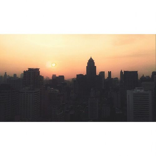 Thursday sunset... Sun Sunset BBKK BKK