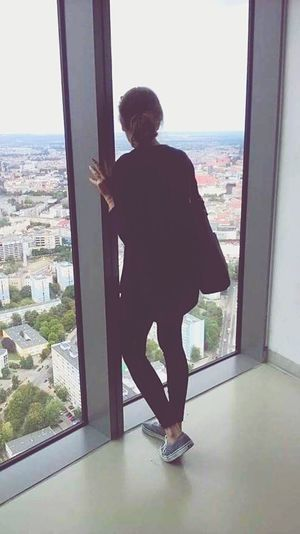 SkyTower Wroclaw, Poland Hello World That's Me Relaxing Enjoying Life Colour Of Life Big City Life View 49floor Girl