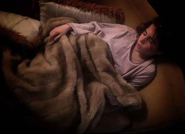My treasure Indoors  Sleeping One Person Home Interior Lying Down Girl Daughterlove Daughter