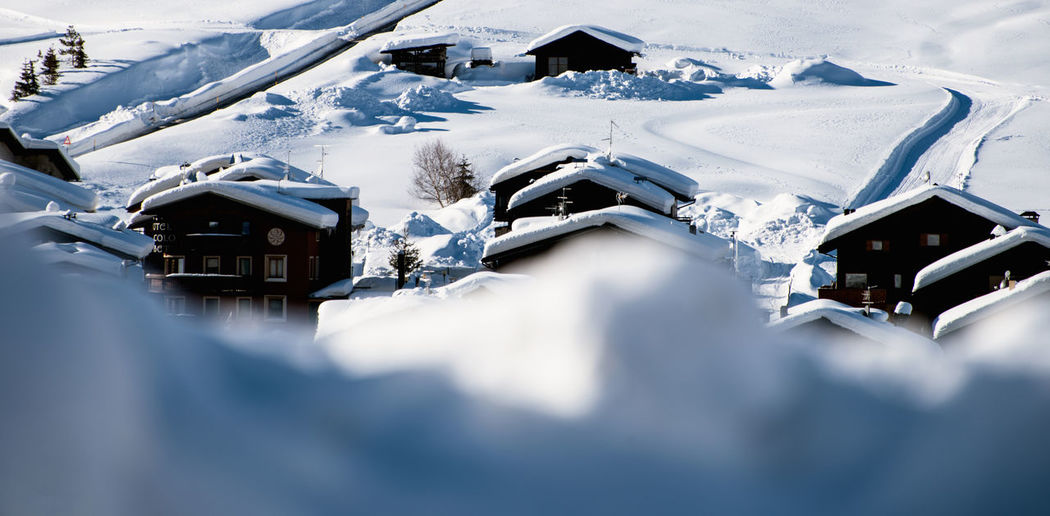 livigno Architecture Building Exterior Built Structure Cold Temperature Day House Mountain Nature No People Outdoors Snow Winter