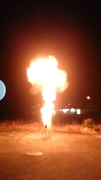 Fettexplosion Freiwillige Feuerwehr War Interessant Fun