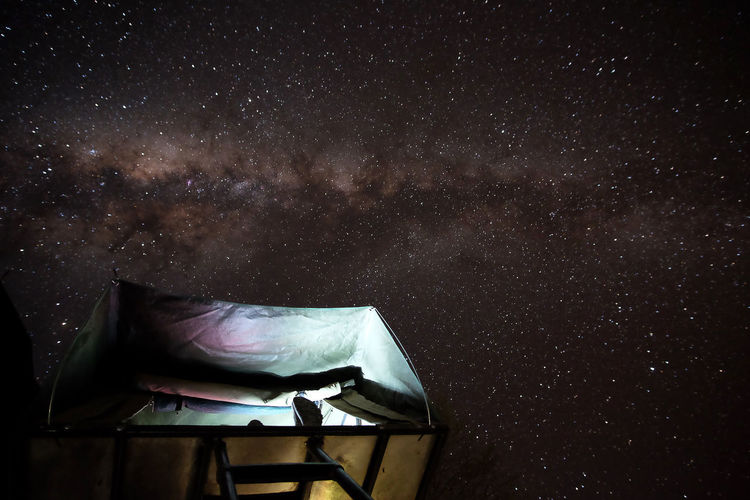 Unforgettable milky way in namibia