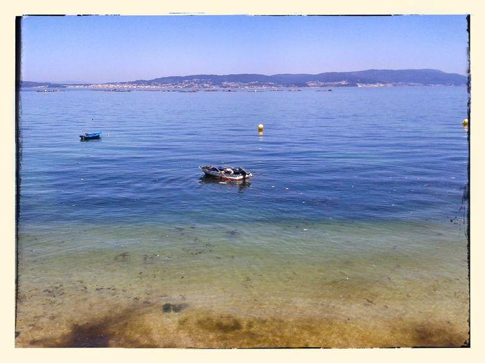 Bueu. Galiza Seascape Beach Bueu