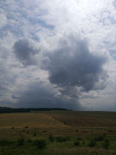 Field Cloud - Sky Nature Landscape No People Beauty In Nature Day Outdoors Sky Poland Polska Jura Krakowsko Czestochowska