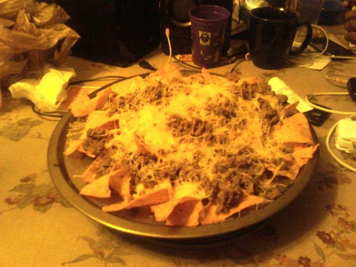 yummy nachos.!