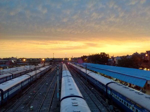 Railways Taking Photos