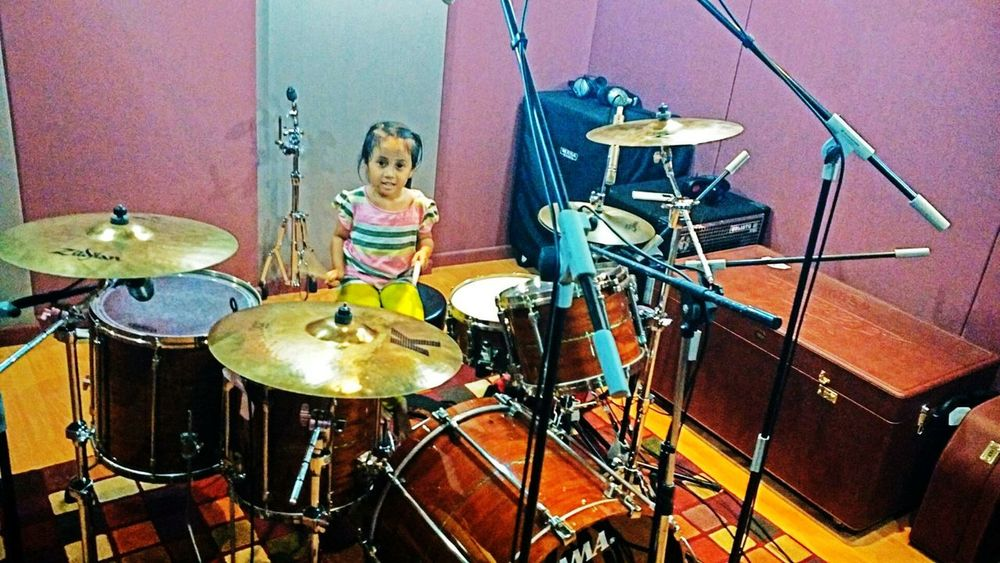Like Father Like Daughter Drums