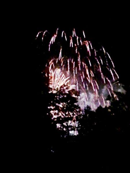 Cranger Kirmes  Feuerwerk