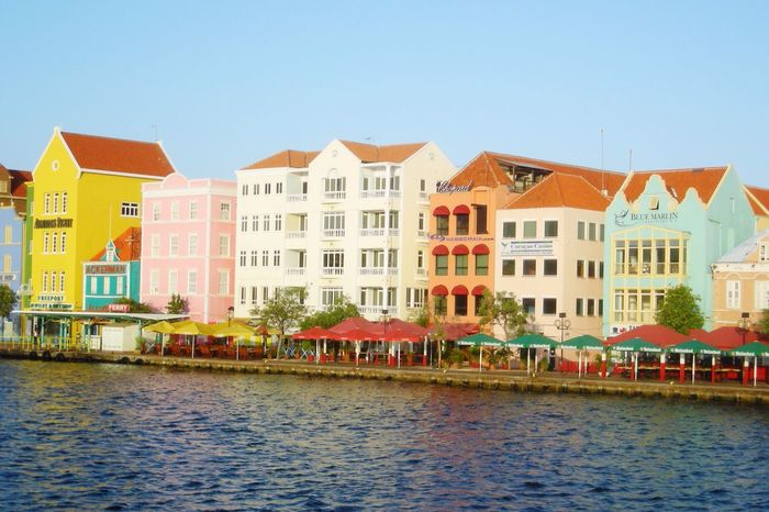 Curacao Curacao (willemstad) Colorful Houses 2008