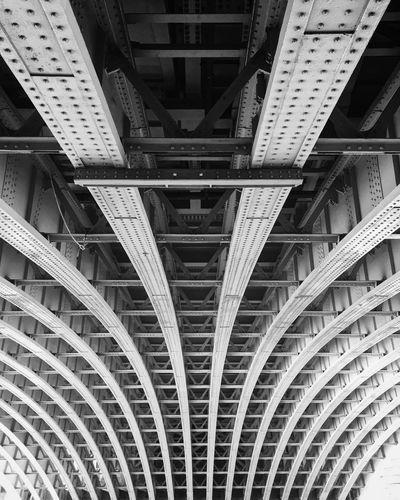 Bridge Blackandwhite Architecture Built Structure Bridge - Man Made Structure Connection Architectural Feature Underneath Backgrounds Modern